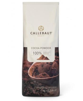Cacao en polvo 100% callebaut