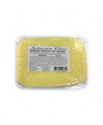 Fondant amarillo limón 1 kg