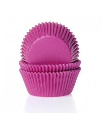 50 Cápsulas rosa hot pink-...