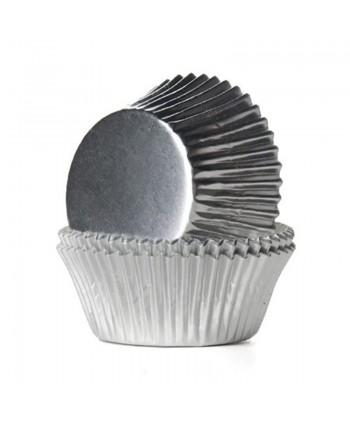 24 Cápsulas foil silver-...