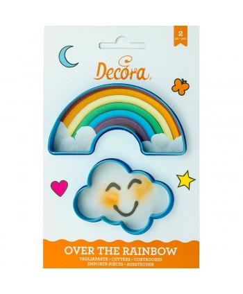 Kit cortador arcoiris y nube