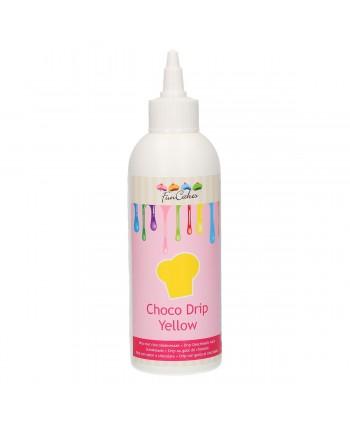 Choco drip yellow...