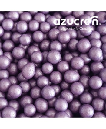 Perlas de azúcar violeta...