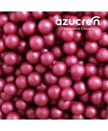 Perlas de azúcar rojo 7mm...
