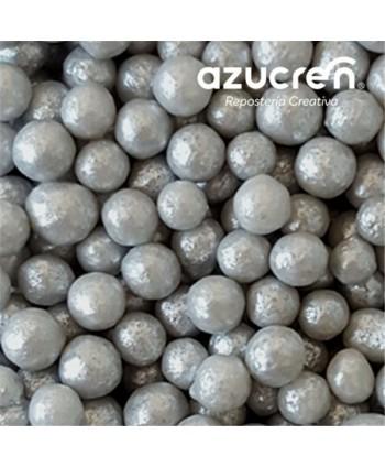 Perlas de azúcar plata 7mm...