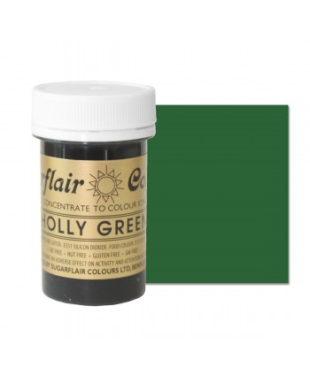 Colorante holly green 25 gr