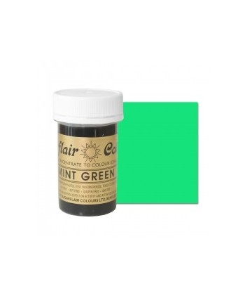 Colorante  mint green 25 gr