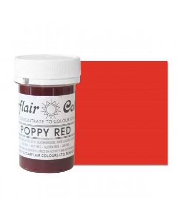 Colorante poppy red 25 gr