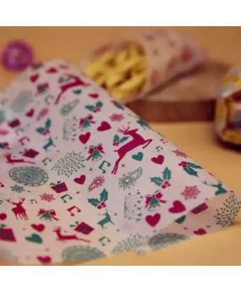50 hojas navidad papel...
