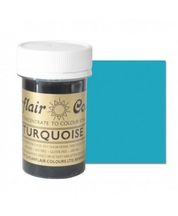 Colorante turquoise 25 gr