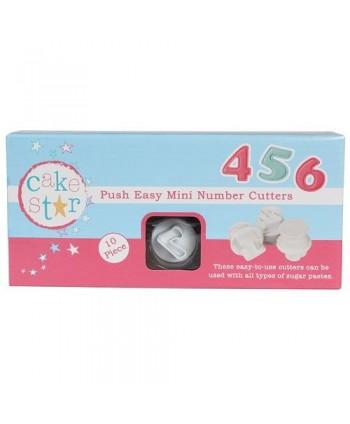 Set 10 cortadores números...