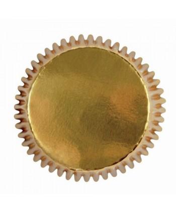 45 mini cápsulas foil oro -...