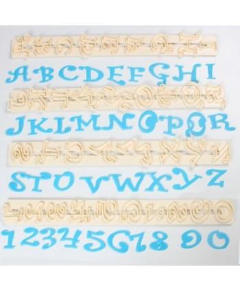 Cortadores Alfabeto y...
