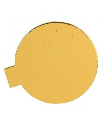 Disco oro con lengueta 8cm...