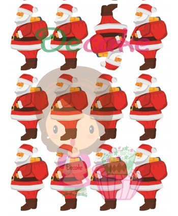 Imágenes de Papá Noel con saco
