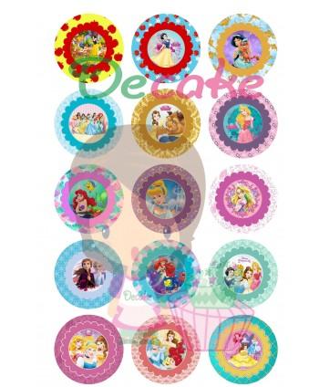 Imágenes princesas redondas...