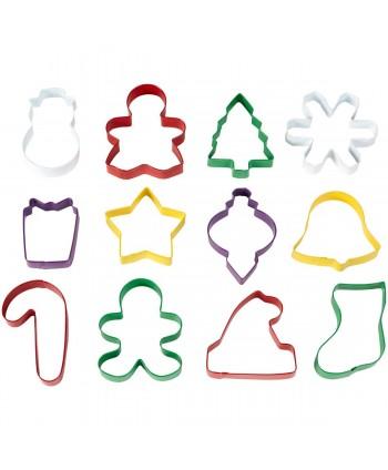 12 cortadores navidad...