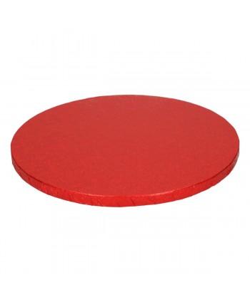 Base redonda gruesa roja...