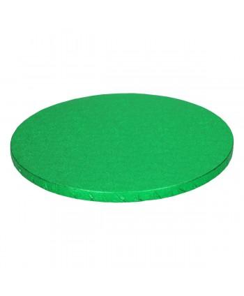 Base redonda gruesa verde...