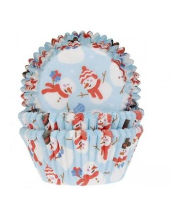 50 Cápsulas muñeco nieve-...
