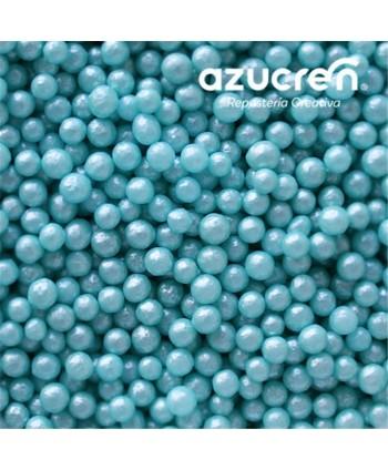 Perlas de azúcar azul...