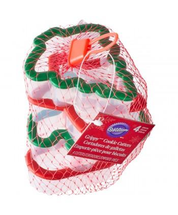 4 cortadores grippy navidad