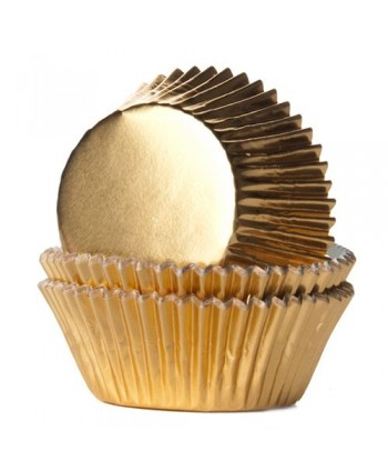 24 cápsulas foil oro -...