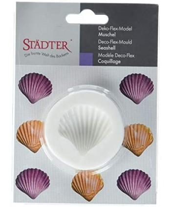 Molde silicona concha