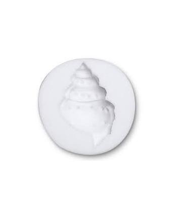 Molde silicona caracola