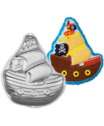 Molde barco pirata - WILTON