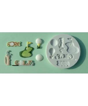 Molde golf - Alphabet moulds