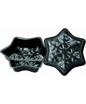 2 Molde snowflake 12cm - Ibili