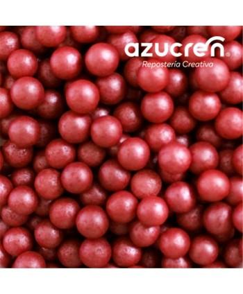 Perlas de azúcar rojas...