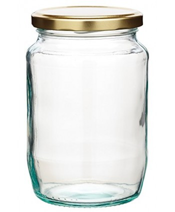 Botella redonda cristal...