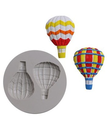 Molde silicona globos...