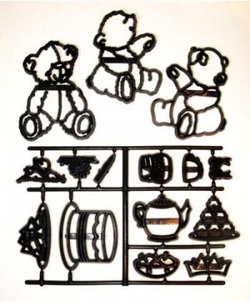 Cortador patchwork teddy...