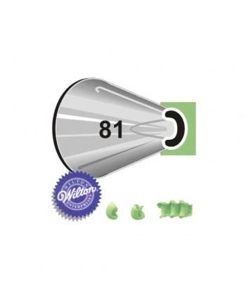 Boquilla 81 pétalo curvo