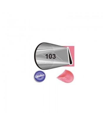 Boquilla 104 pétalo - Wilton