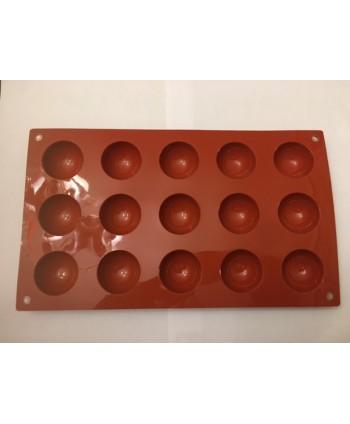 15 Semi esferas molde...