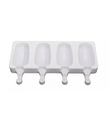 4 polo pop liso molde silicona