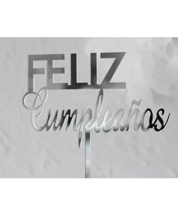 Topper Feliz cumpleaños...