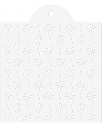 Stencil modelo flor 8...