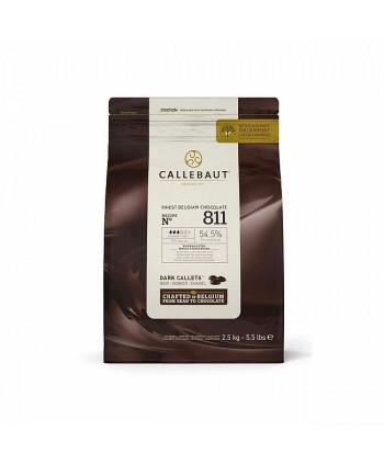 Chocolate negro 811 2,5kg...