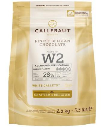 Chocolate blanco W2 -2,5kg...