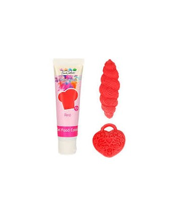 Colorante gel Poppy red 31...
