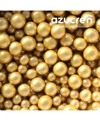 Mix Perlas de azúcar oro...