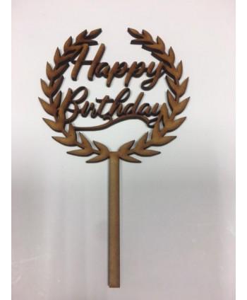 Topper Happy Birthday orla...