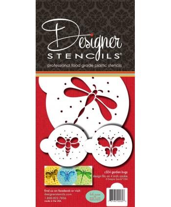 Stencil mariposas y...