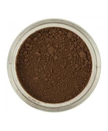 Colorante polvo marrón...