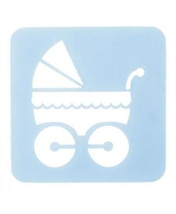 Stencil carrito bebé Culpitt